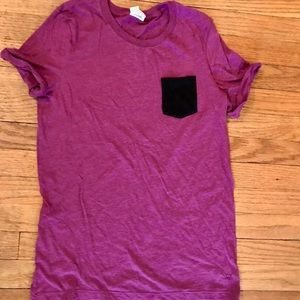 VS Pink Pocket Tee